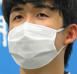 藤井聡太のマスク