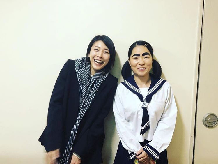 竹内&イモト